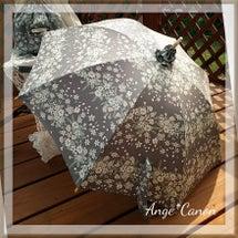 日傘とお揃いのBag…