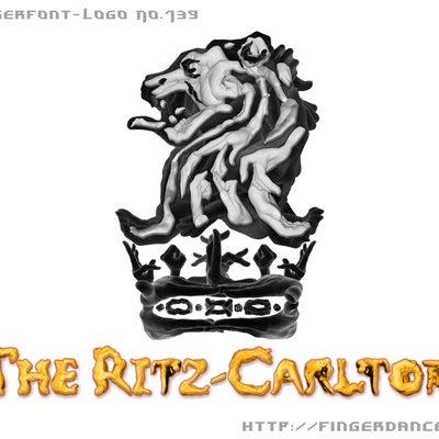 リッツ・カールトン フィンガーロゴ Finger font Logo hand の記事に添付されている画像