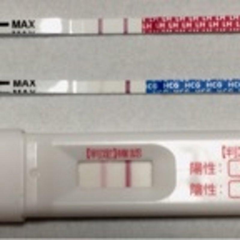 ずっと薄い 排卵検査薬