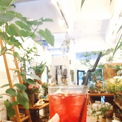 cafe + flowersの記事に添付されている画像
