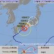 台風5号接近に伴う南…