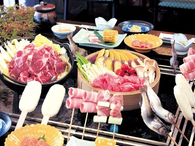 湯YOUパーク 湯元森の宿遊星館 料理