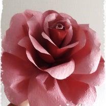ジャイアントペーパーフラワーのバラの作り方①の記事に添付されている画像