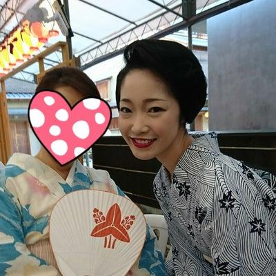 宮川町の芸妓・とし夏菜さんの記事に添付されている画像
