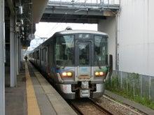 森本駅 鉄道 521系 201708050604