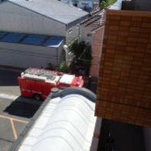 消防車が止まった!@…