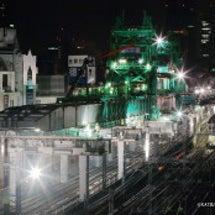 神田駅上空のスゴイマ…