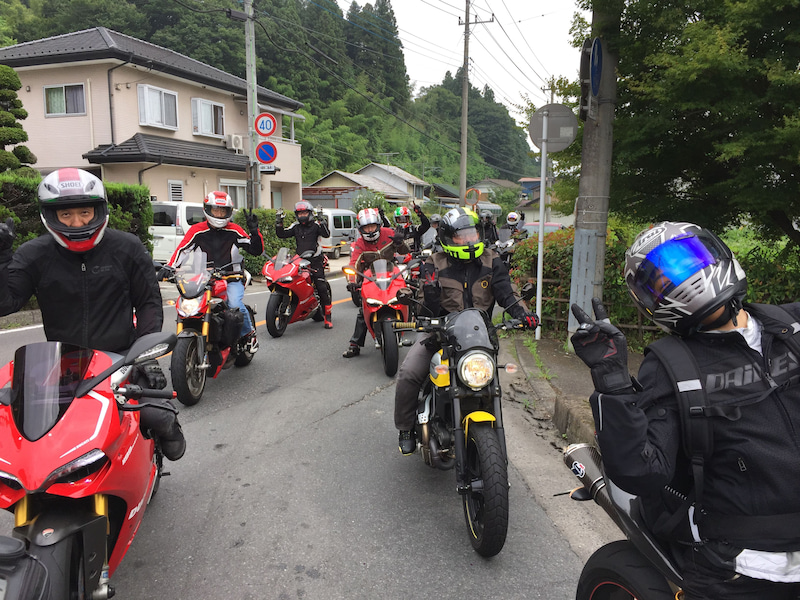 ドゥカティ東名横浜 群馬ツーリング 145号