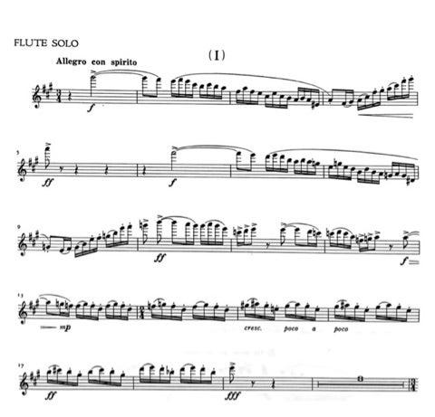 協奏曲 フルート