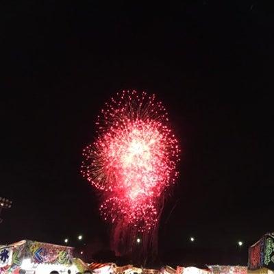 南丹市花火大会の記事に添付されている画像