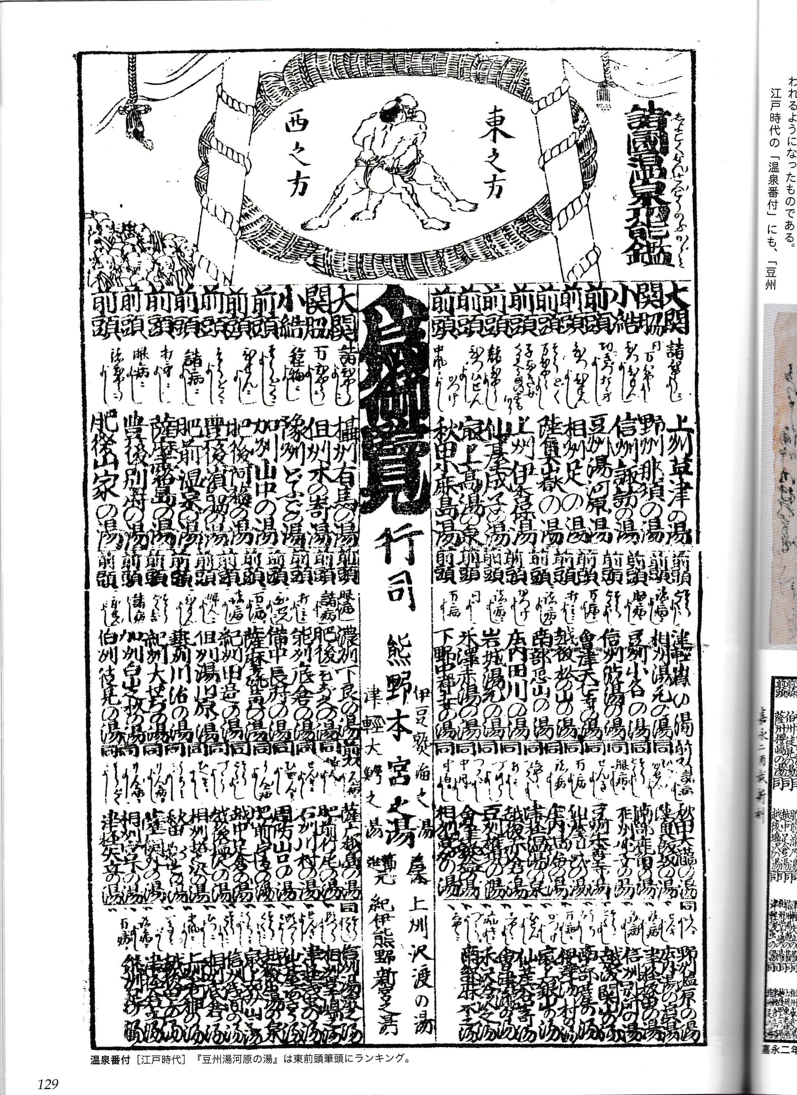futari-komorebiのブログ温泉番付