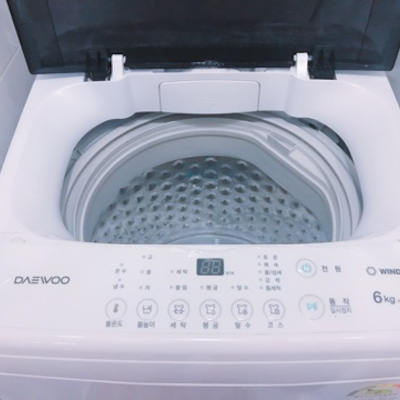 韓国での洗濯の記事に添付されている画像