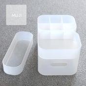 ★無印良品のプラスチックケースで洗面所の棚を整理整頓