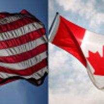アメリカとカナダの大…
