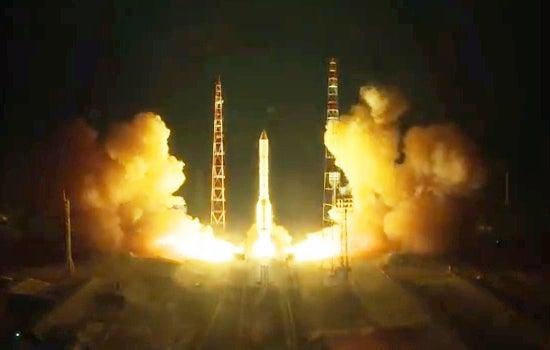 新型プロトンM、軍事通信衛星「K...