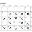 8月 と 9月の予定