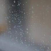 雨を利用して、ちゃっかり窓掃除
