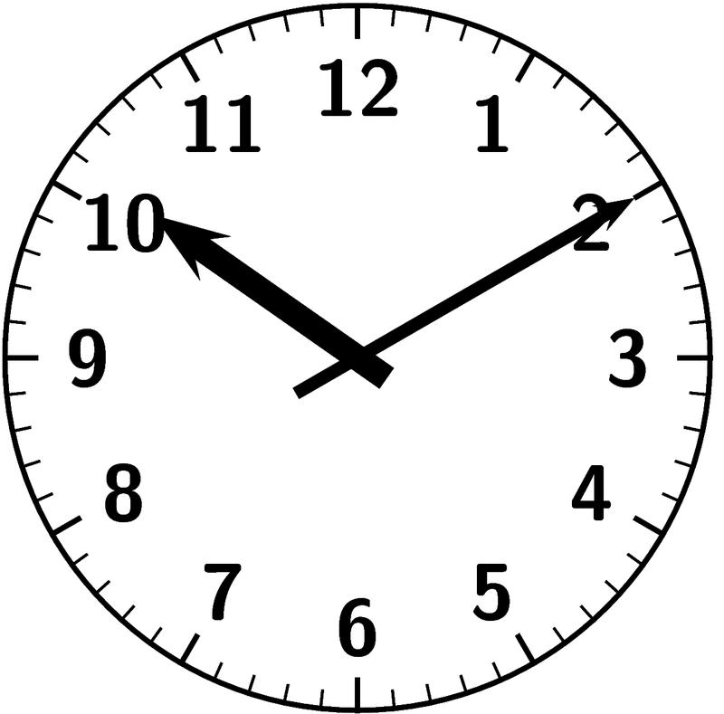 時計 算数