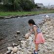 盛岡で川遊び