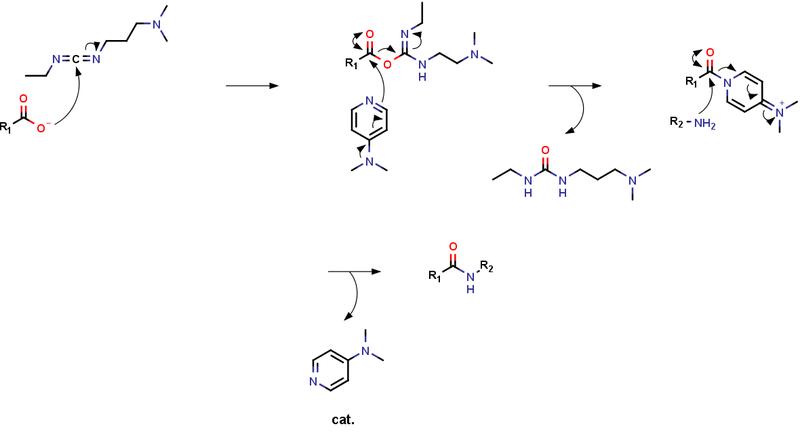 基礎的な官能基変換反応 / カルボキシ基 ⇒ アミド基 | 創薬メモ
