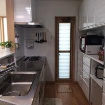 【WEB内覧会2】キッチン2.マルチ収納対面プランは便利!の記事に添付されている画像