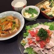 【昨日の晩ごはん☆副菜カサマシの術!】