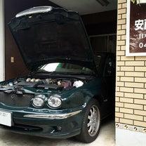 ジャガーXタイプのエンジンオイル漏れでオイルパンガスケットを交換★の記事に添付されている画像