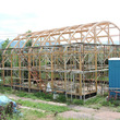 木造農業ハウス試験棟…