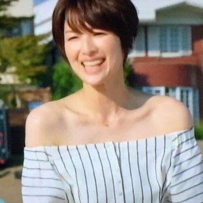 『セシルのもくろみ』からの吉瀬美智子さんのファッションチェック再び♡の記事に添付されている画像