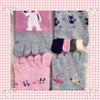 ダイソー購入品♡可愛い♪5本指ソックス他いろいろ♡LOVE&ハート♡♡の画像