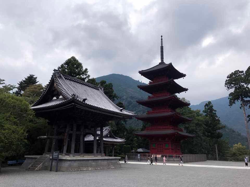 総本山 久遠寺にお詣りツーリングに行きました