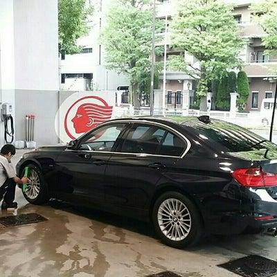 BMW320iX、洗車、満タン。の記事に添付されている画像
