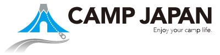 CAMP JAPAN キャンプジャパン ロゴ