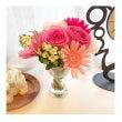 お花とポトス