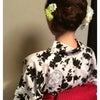 花火大会着付けとヘアセット 受付開始の画像