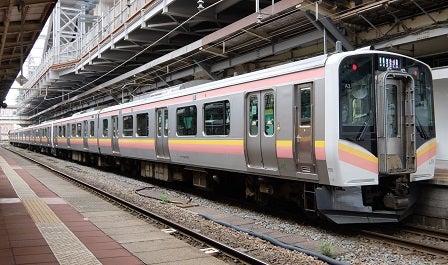 JR東日本E129系 | 車内観察日記