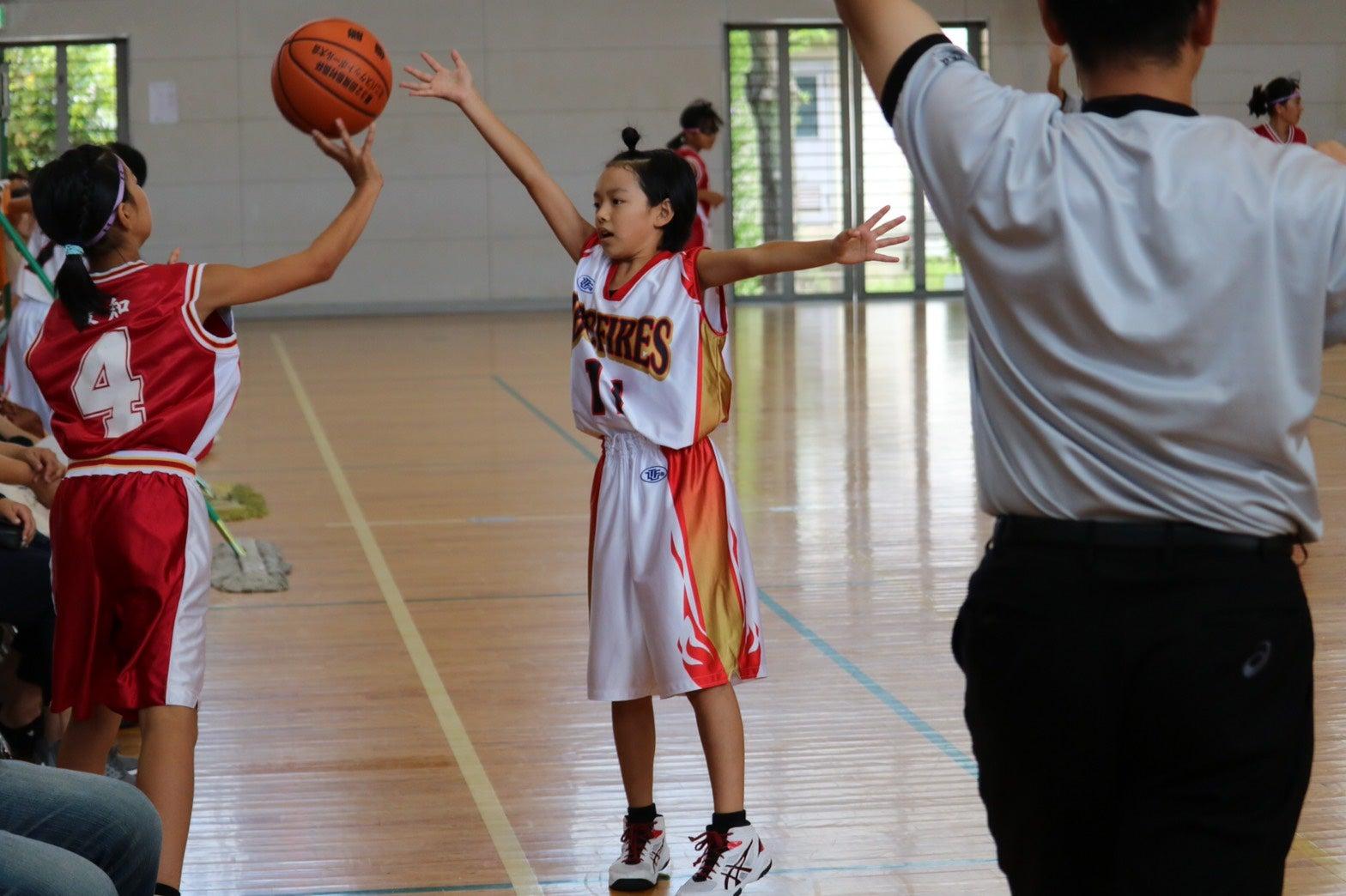春日井市 ミニバス JBC-FIRES バスケットボールクラブチーム多度中 オレンジF JBC 八開 佐織ミニバスケットボール交歓会
