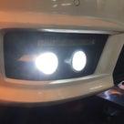 ベンツ W221 フォグランプ 4灯化&LED化 カラーチェンジLED装着!の記事より