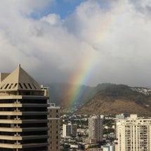 マノアに架かる虹