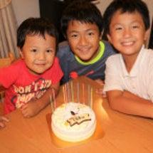 祝☆ともき11歳の誕…