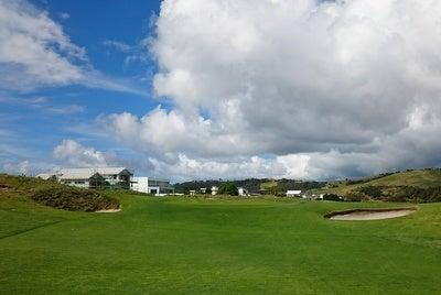 オマハビーチゴルフ場 6番