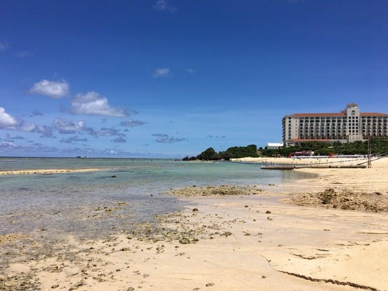 アリビラ前のニライビーチ ふたたび干潮〜 | 今は旅行が趣味です。