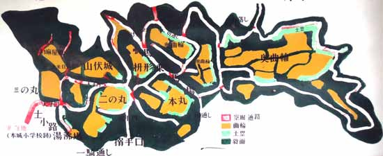 【写3】高山城