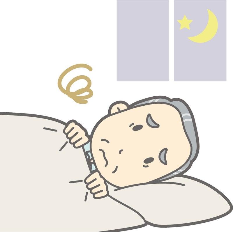 老人の眠り