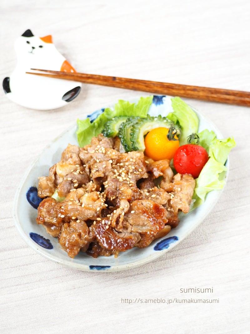 コマ 焼き 豚 生姜