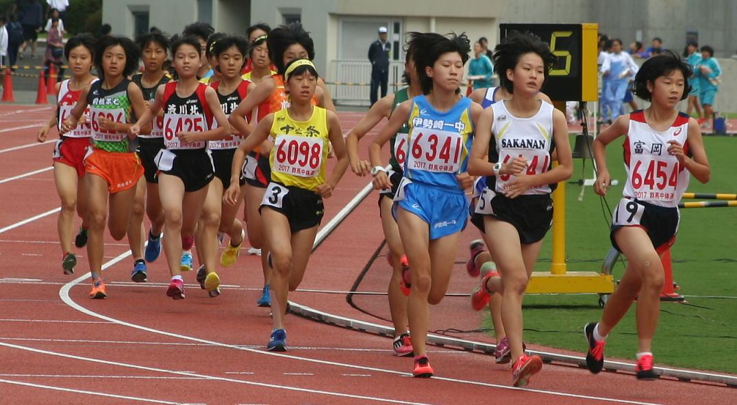 第48回ジュニアオリンピック 陸上競技大会 群馬県予選会 女子 ...