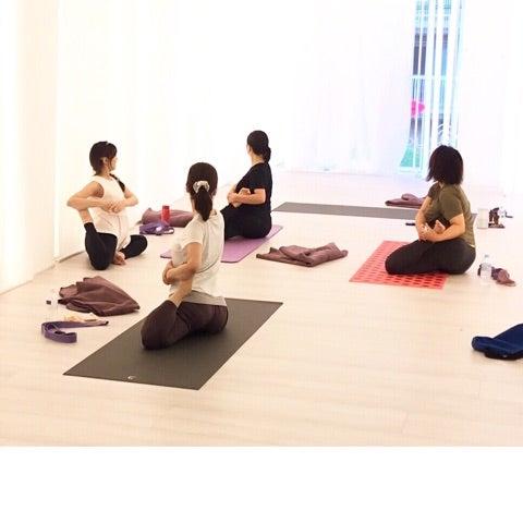 2f9092b230a185 yogalife】今日は岐阜からのお客様も♡ | ヨガインストラクターChikako ...