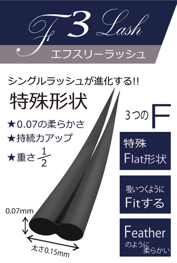 特殊フラット形状|F3ラッシュ