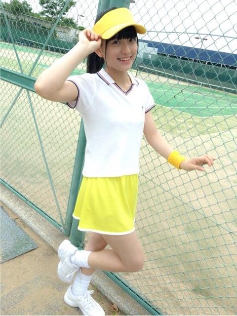 黄色のウェアを着た清井咲希