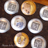 出張ワークショップ 金箔・銀箔で作るアンティークプレートの画像